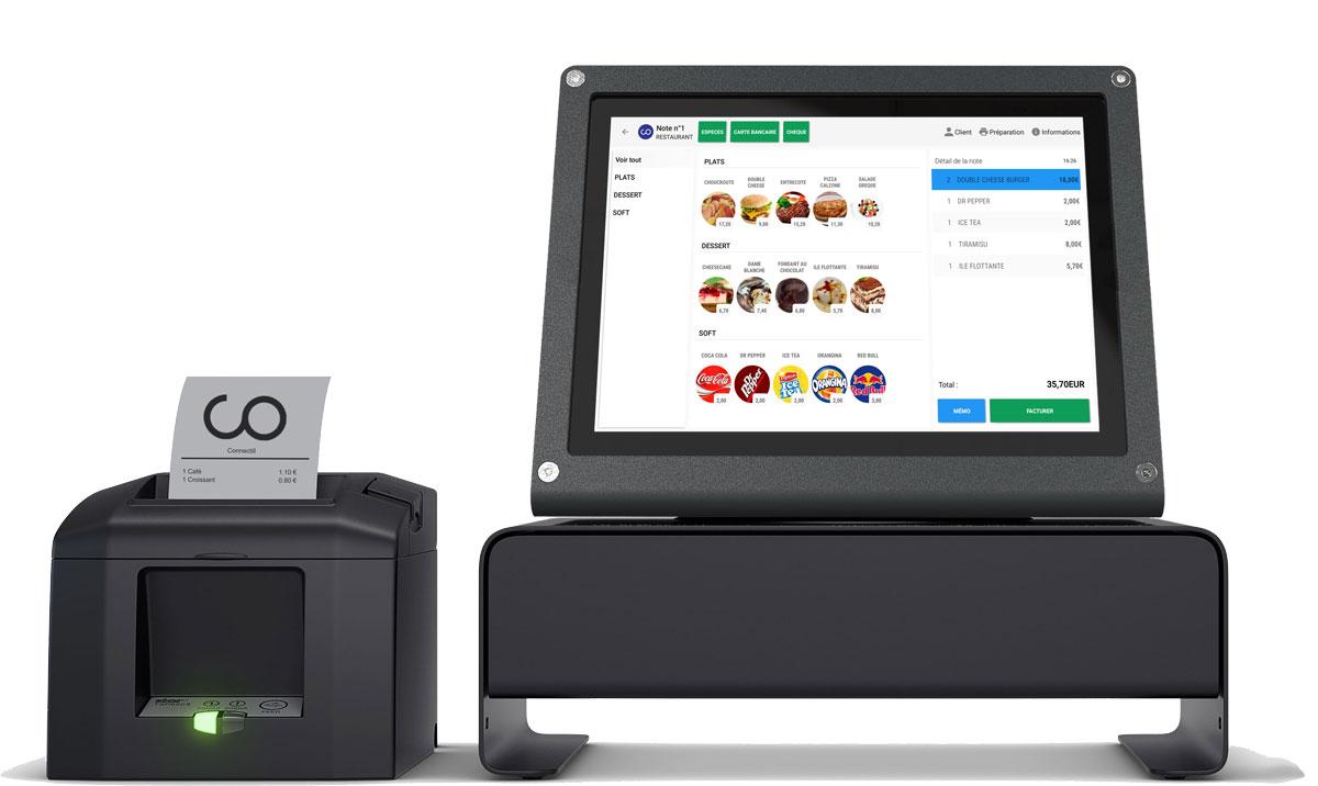 connectill logiciel de caisse enregistreuse tactile android. Black Bedroom Furniture Sets. Home Design Ideas